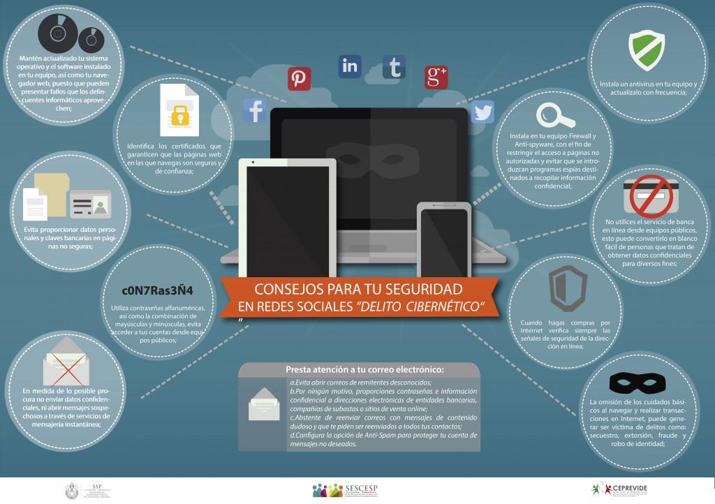 redes sociales delito cibernetico